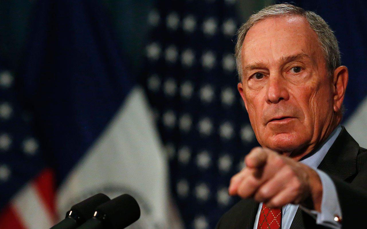 Michael Bloomberg presenta candidatura a la presidencia de EU