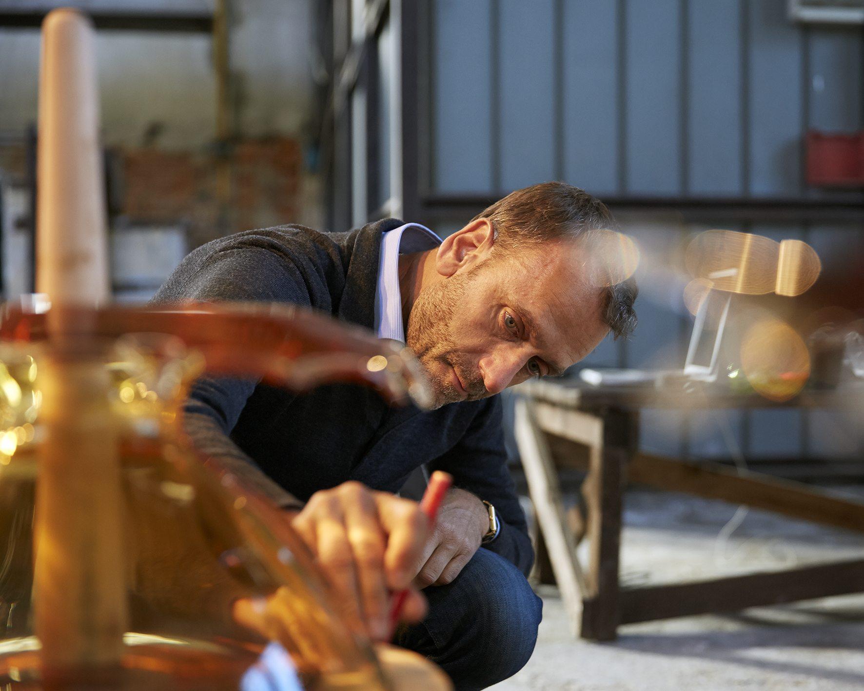 Hubert Le Gall rinde homenaje a Ruinart