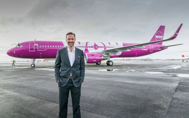 Skúli Mogensen, CEO de Wow Air. (Foto: Staff.)