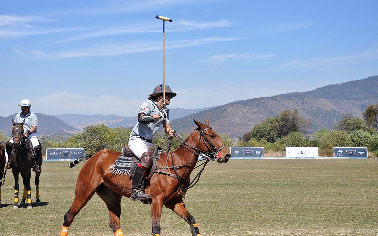 El Polo, un deporte creciente en México