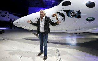 Richard Branson quiere entrar en el mercado con su Virgin Galactic. (Foto: Reuters.)