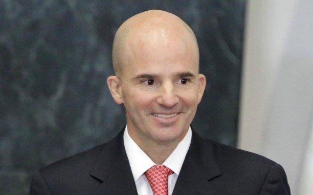 José Antonio González Anaya, en su nombramiento como director de Pemex (Reuters).