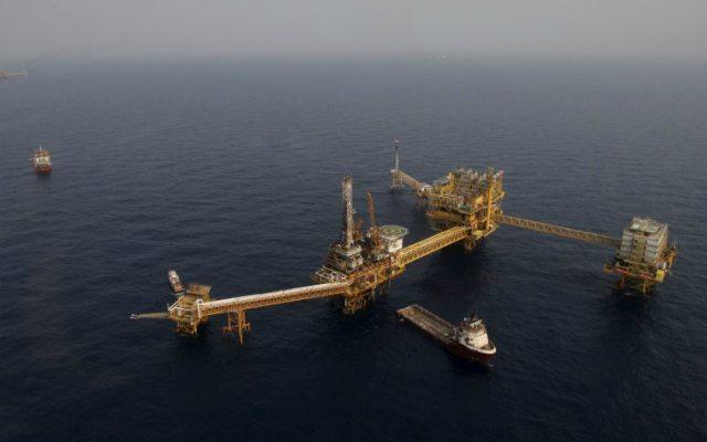 """Imagen de archivo de la plataforma de Pemex """"Ku Maloob Zaap"""" en la Bahía de Campeche (Reuters)."""