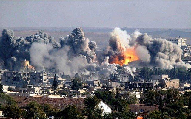 Bombardeo a Siria. (Foto: Reuters)