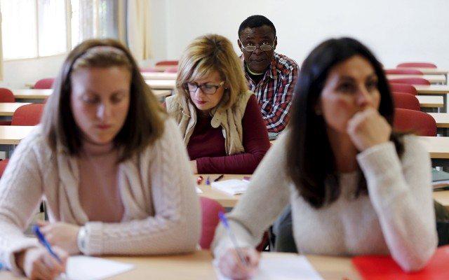 Estudiantes universitarios. (Foto: Reuters)