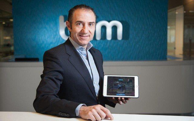 Carlos Sandoval, director general de Blim. Foto: Julio César Hernández.