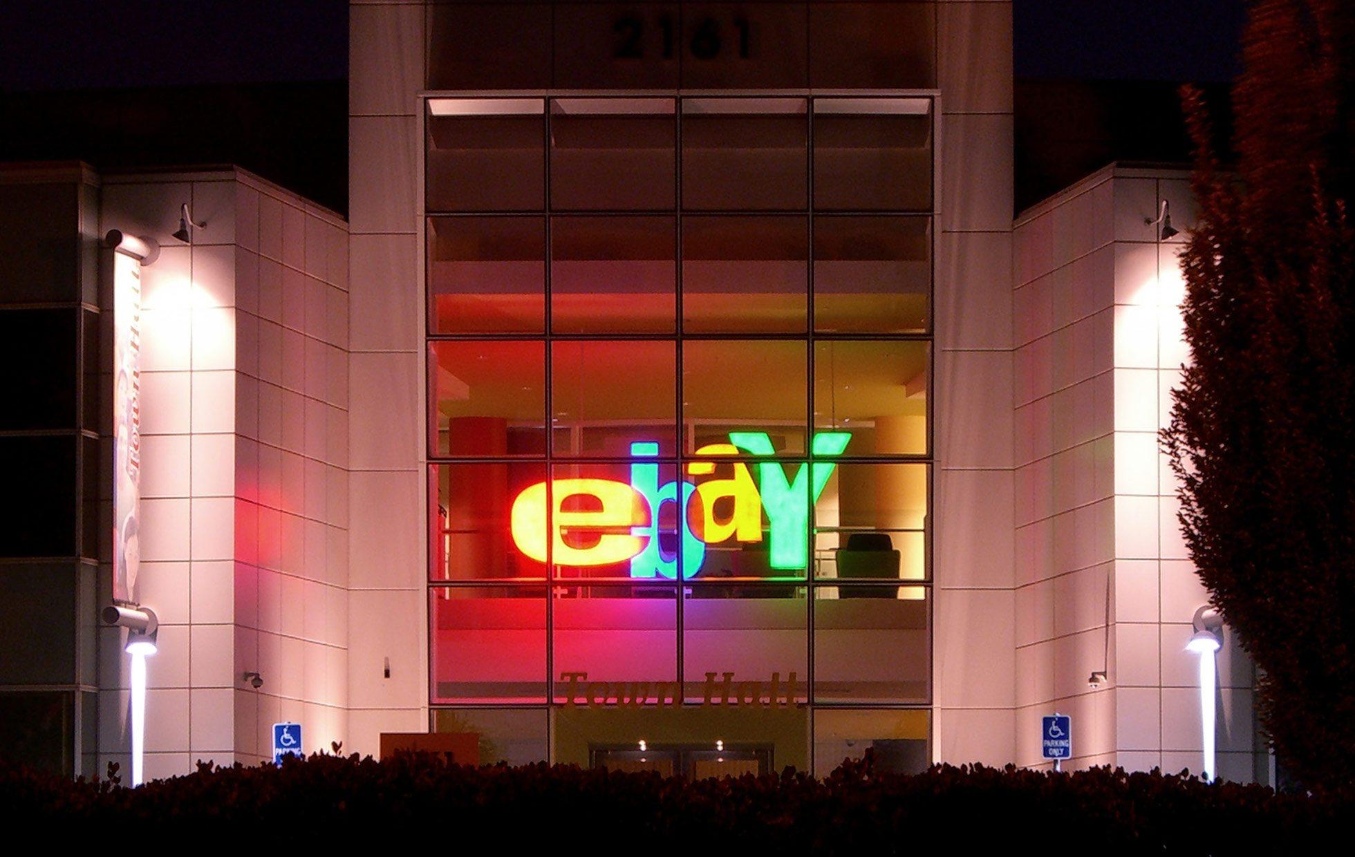 eBay muestra un tibio pronóstico de ganancias trimestrales