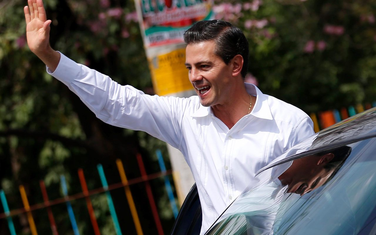 Presidente Enrique Peña Nieto. Foto: Reuters