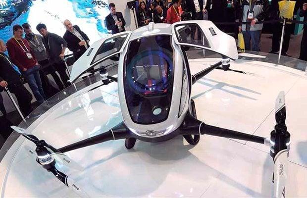 Dubái prepara su cielo para servicio de taxis voladores