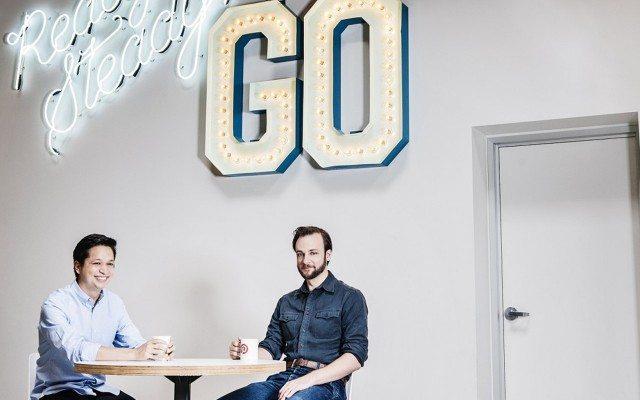 Ben Silbermann y Evan Sharp, fotografiados por Jamel Toppin para Forbes.