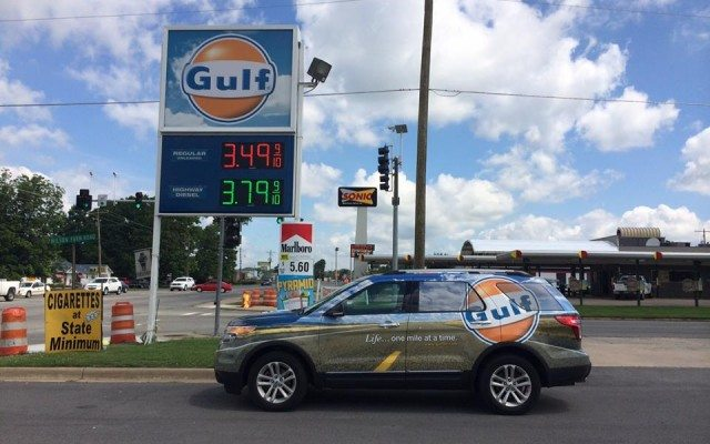 Estación de gasolina perteneciente a Gulf. (Imagen: Facebook)
