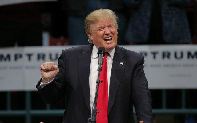 Donald Trump durante un acto de campaña en Carolina del Norte (Reuters).