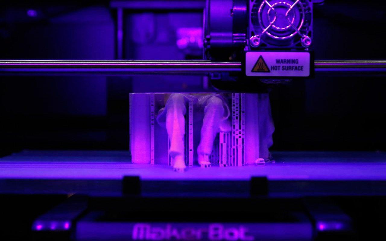 Los próximos muebles de tu oficina podrían ser impresos en 3D