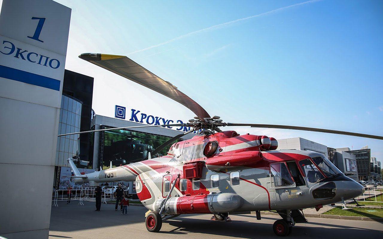 Rusia abrirá centro de mantenimiento de helicópteros en México para 2020