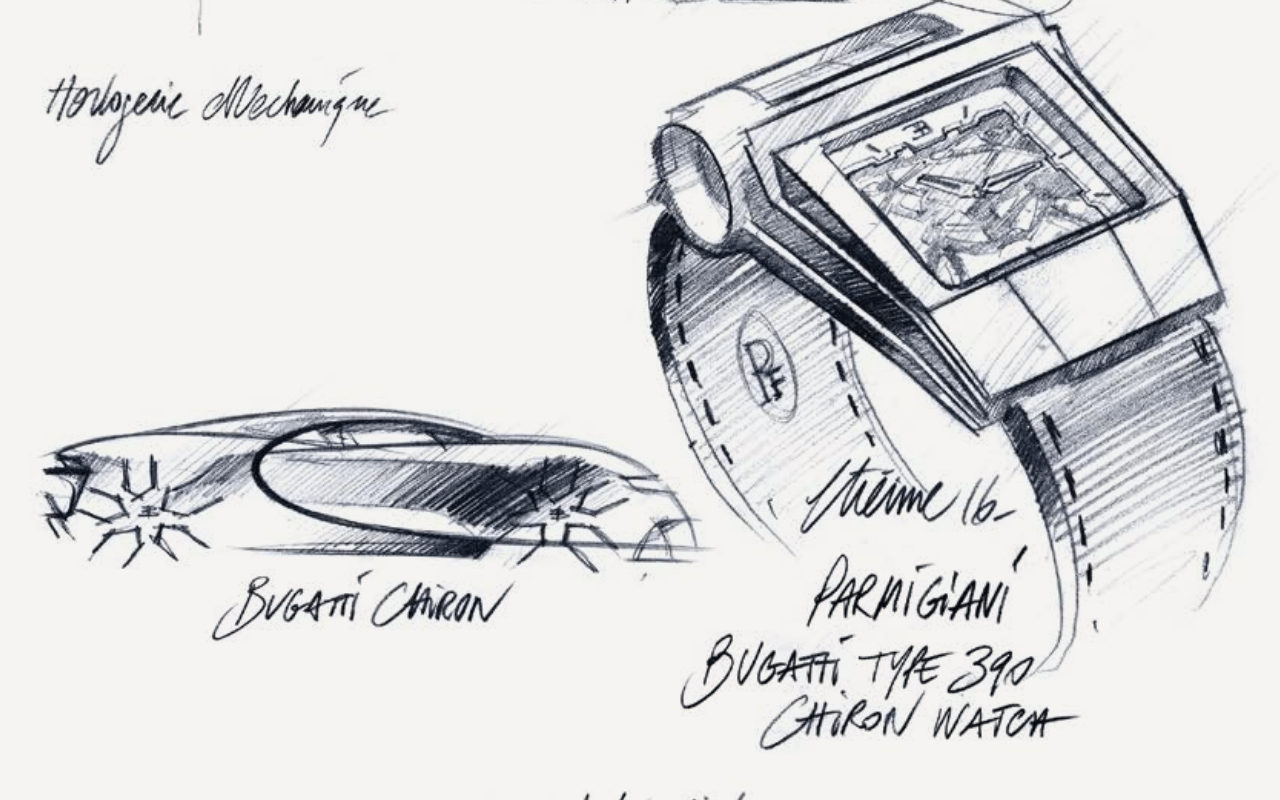 El reloj inspirado en el nuevo super auto de Bugatti