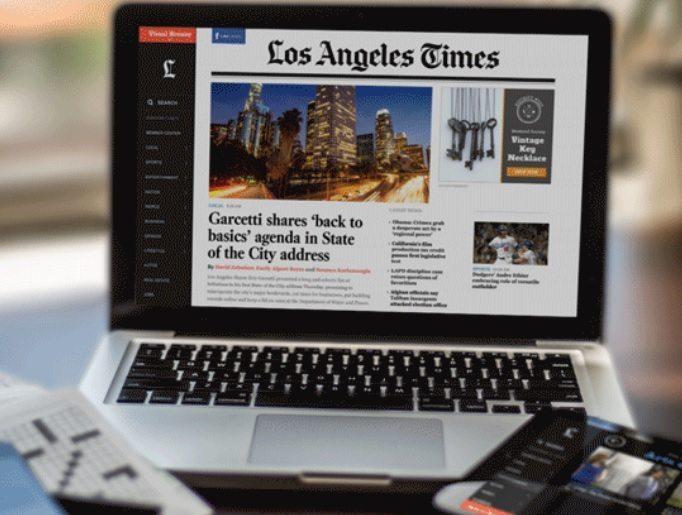 Dueño de Los Angeles Times prepara venta del periódico