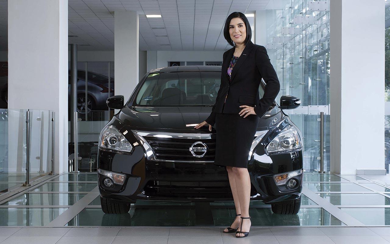 Mayra González fue la primera mujer en pertenecer al Comité Ejecutivo de Nissan. (Foto: Nissan.)