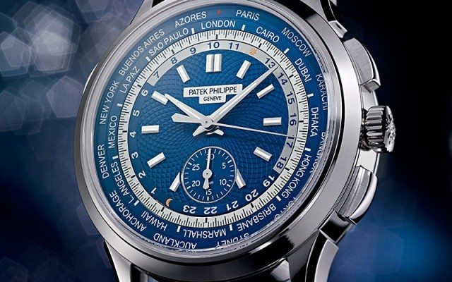 Patek Philippe Chronograph World Time referencia 5930