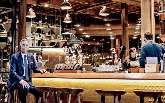 Howard Schultz CEO de Starbucks. (Foto: Jamel Toppin.)