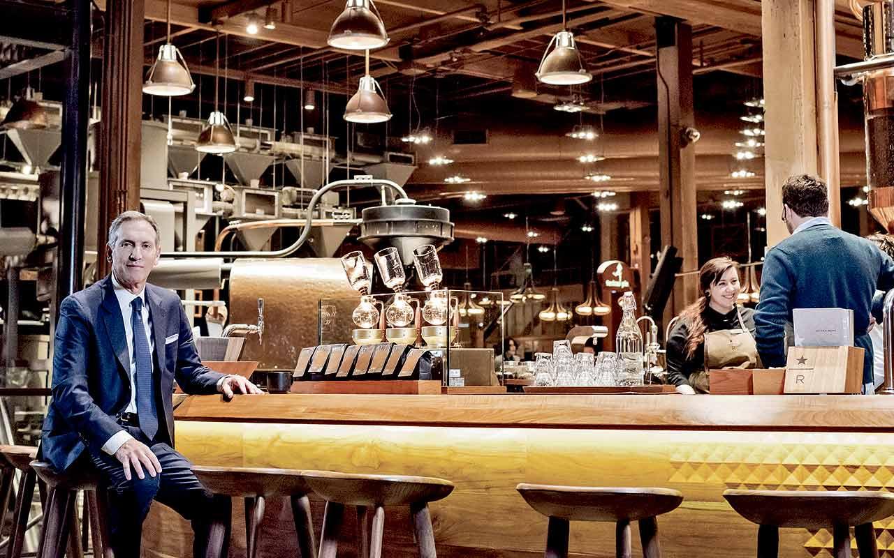 Éste es el último plan de Howard Schultz para Starbucks