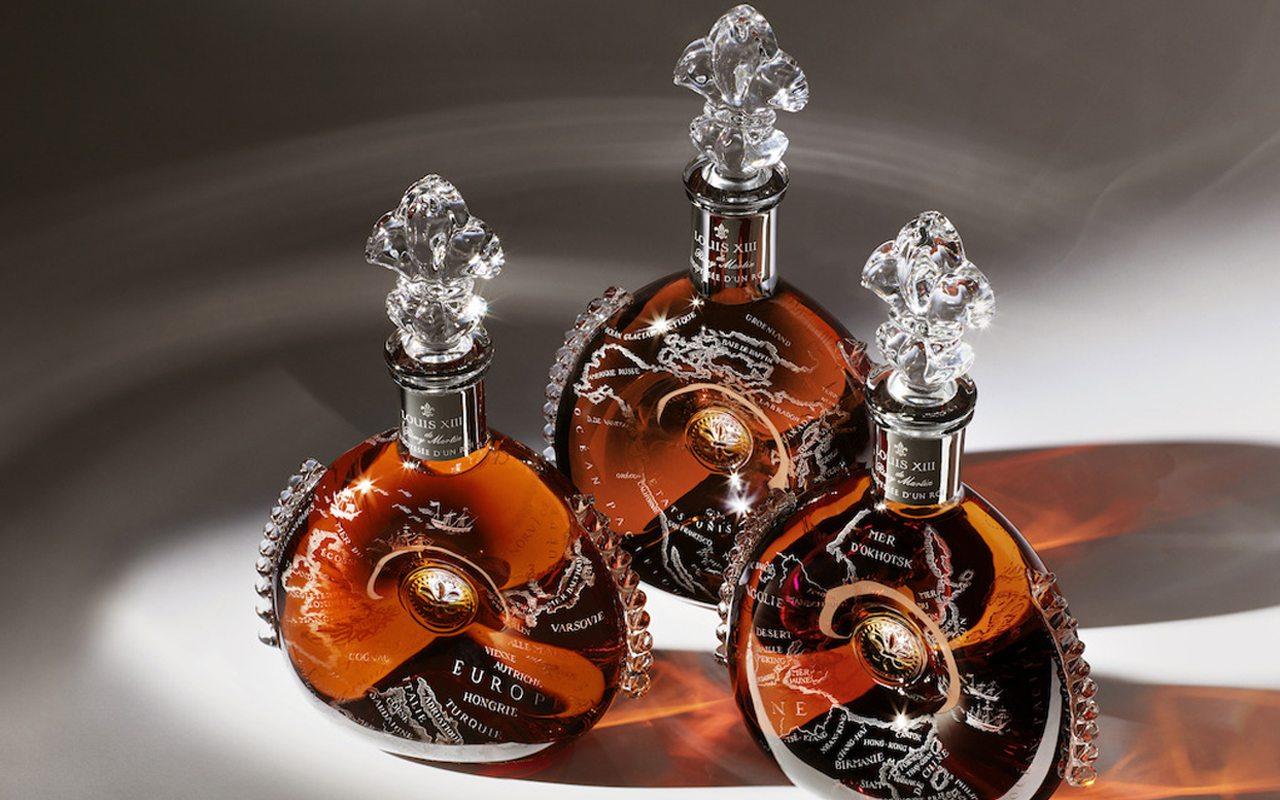 4 casas de lujo francés crean un cognac único