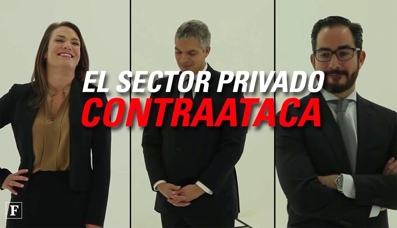El sector privado contraataca