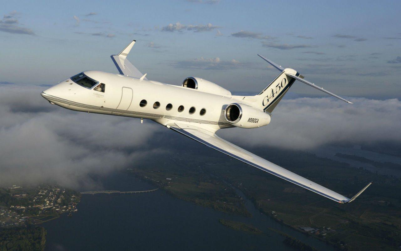 Foto: Gulfstream G450