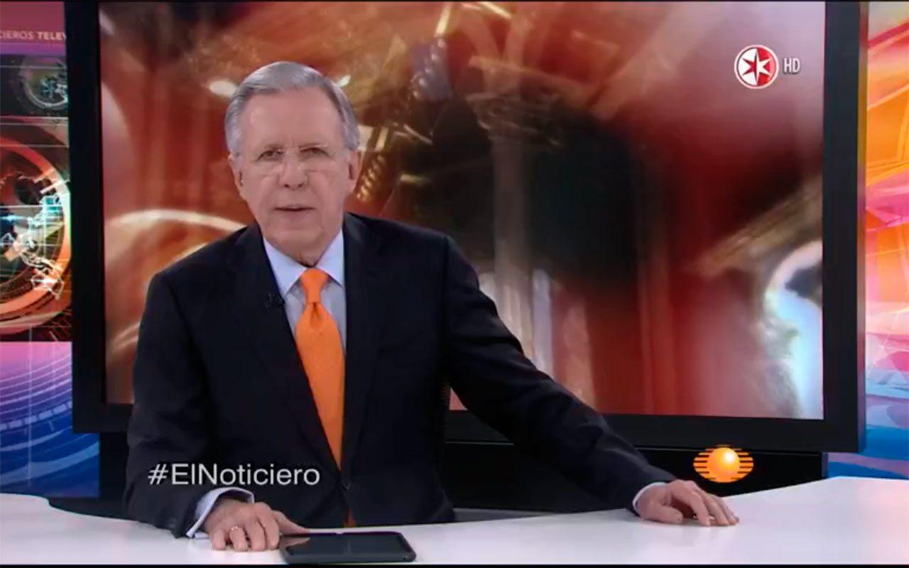 López-Dóriga anuncia que dejará el Noticiero Televisa