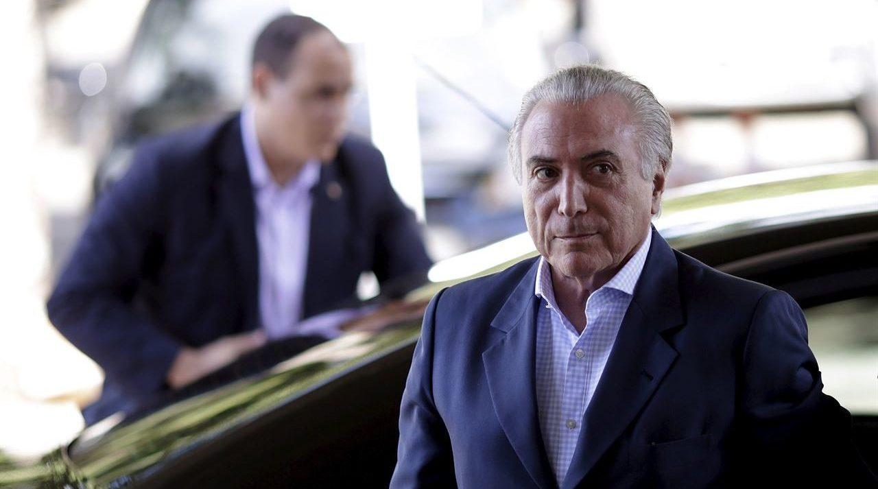 Brasil quita secreto bancario en caso de sobornos que involucra a Temer