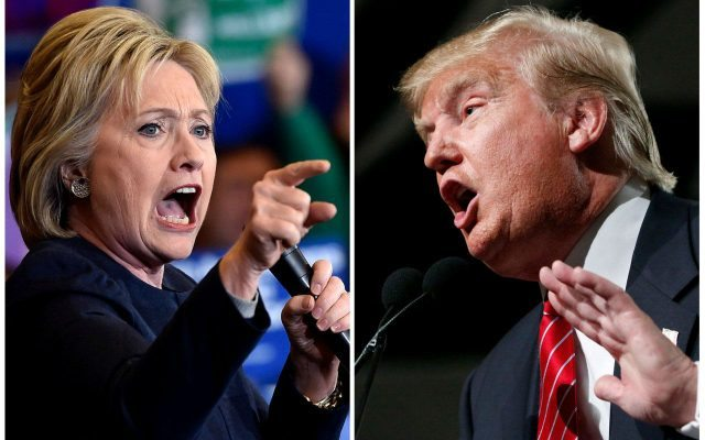 Hillary Clinton vs. Donald Trump. (Foto: Reuters)