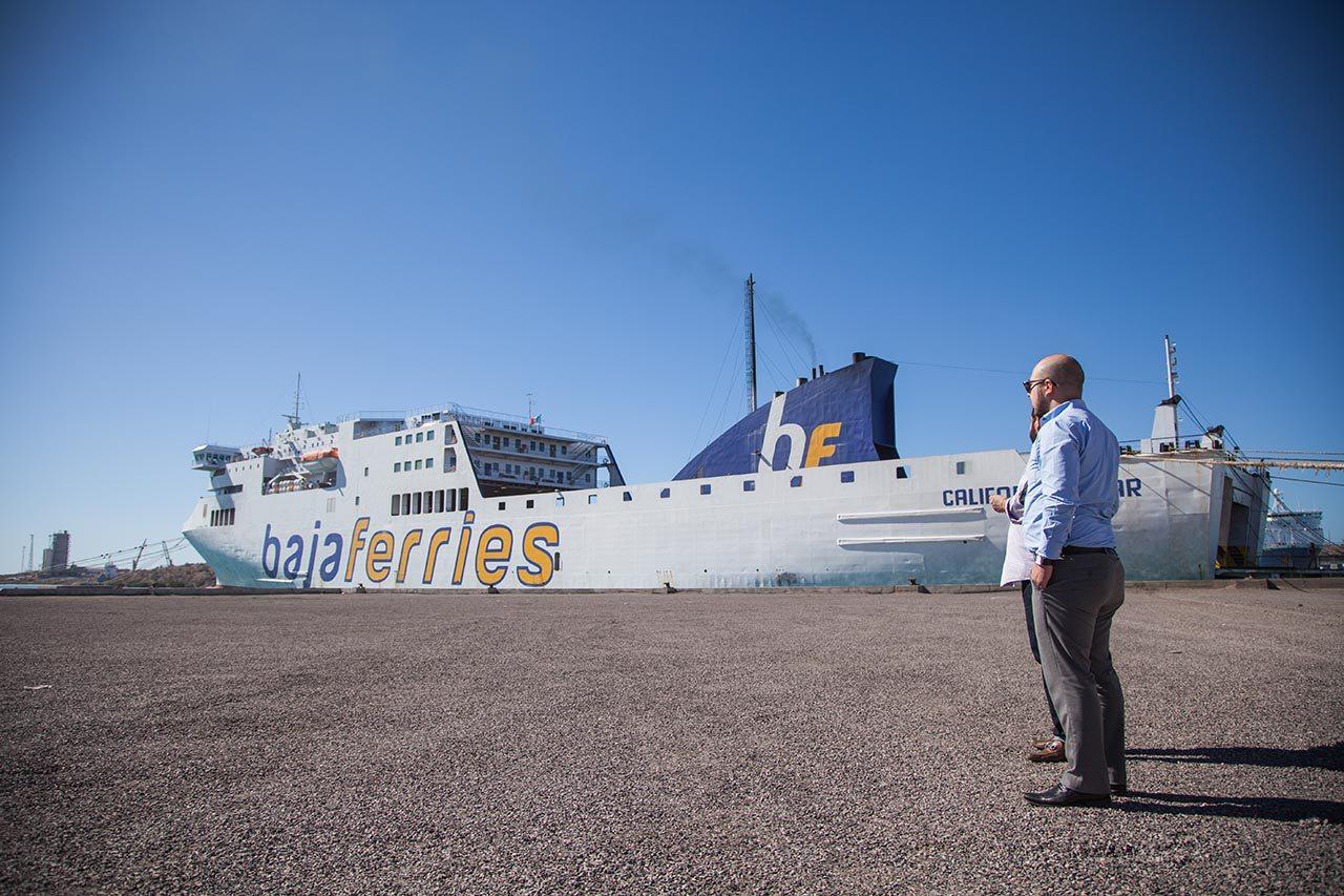 Baja Ferries: moviendo carga y experiencias
