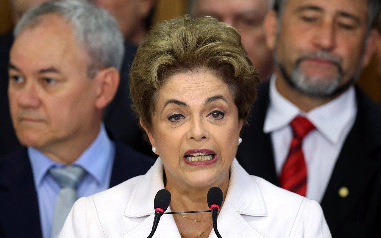 Destituyen a la presidenta de Brasil