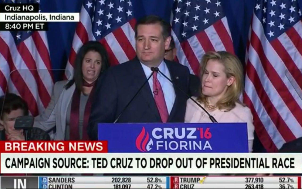 Ted Cruz deja carrera por la presidencia de EU, abre camino a Trump