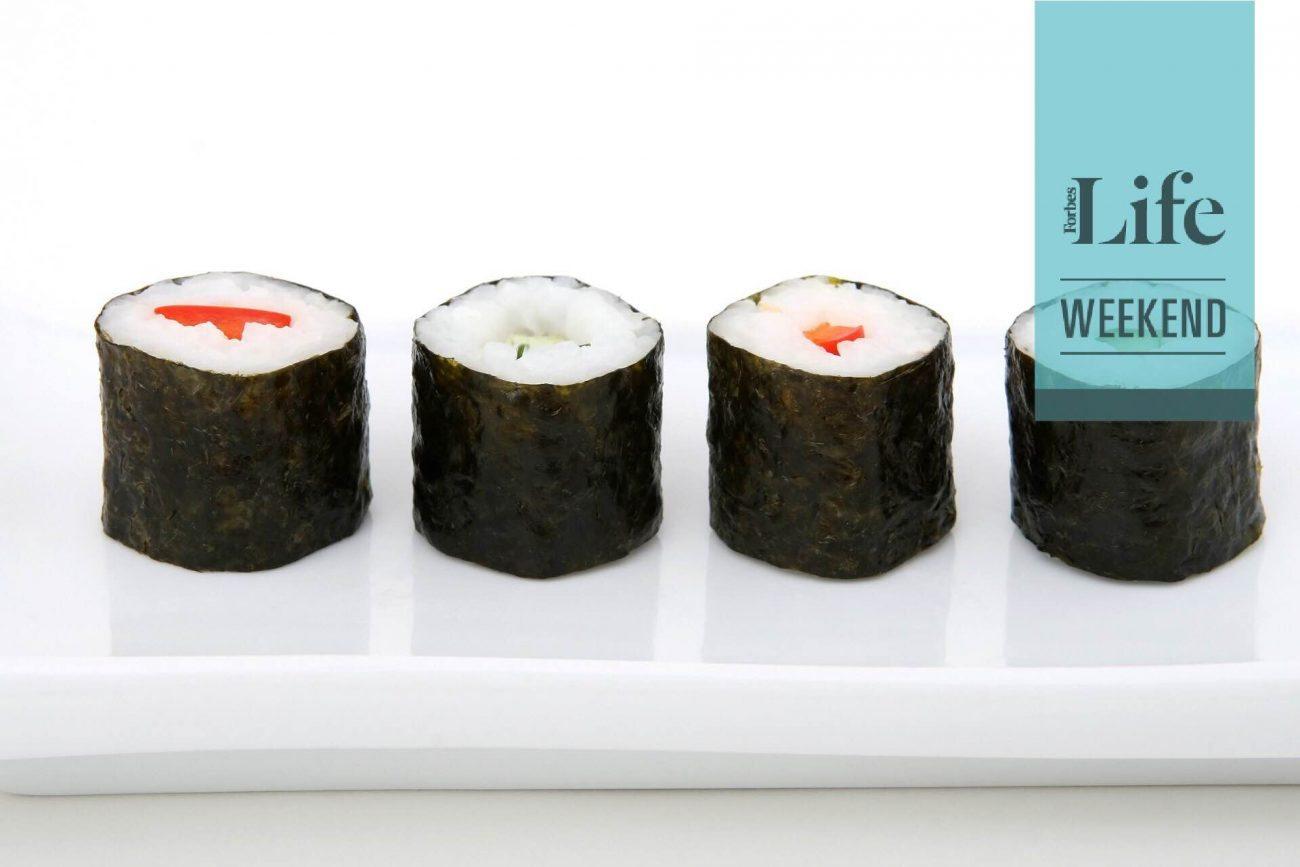 Reglas básicas para comer sushi