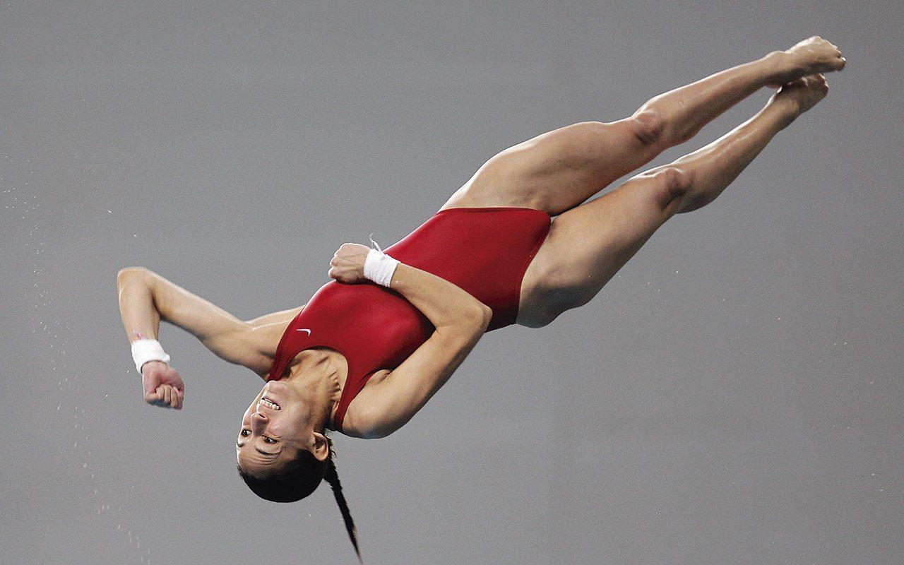 Paola Espinosa se queda a 12 puntos de la medalla de bronce
