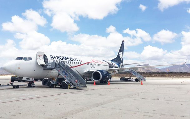 Aeroméxico quiere conquistar los cielos con internet en 2018