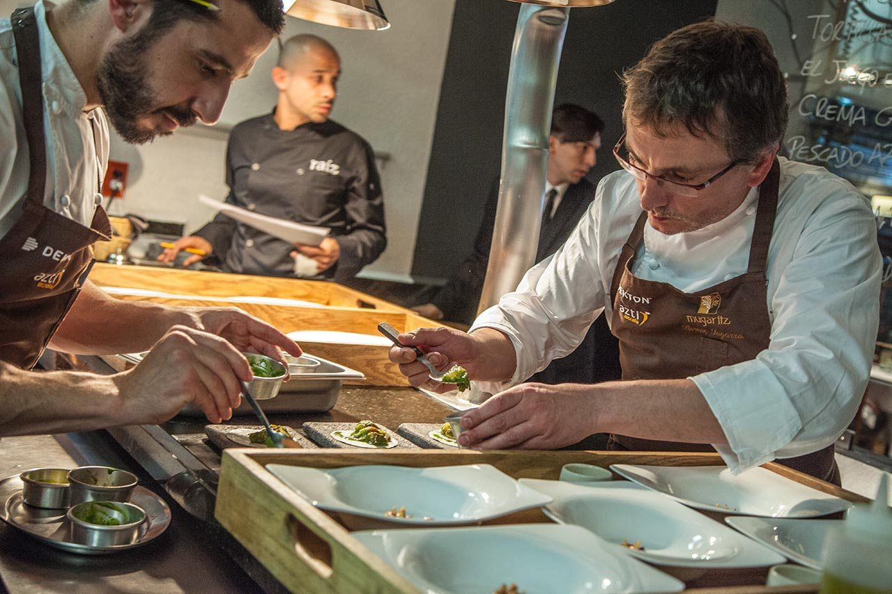 "Tributo ""literario"" al chef Andoni Luis Aduriz"