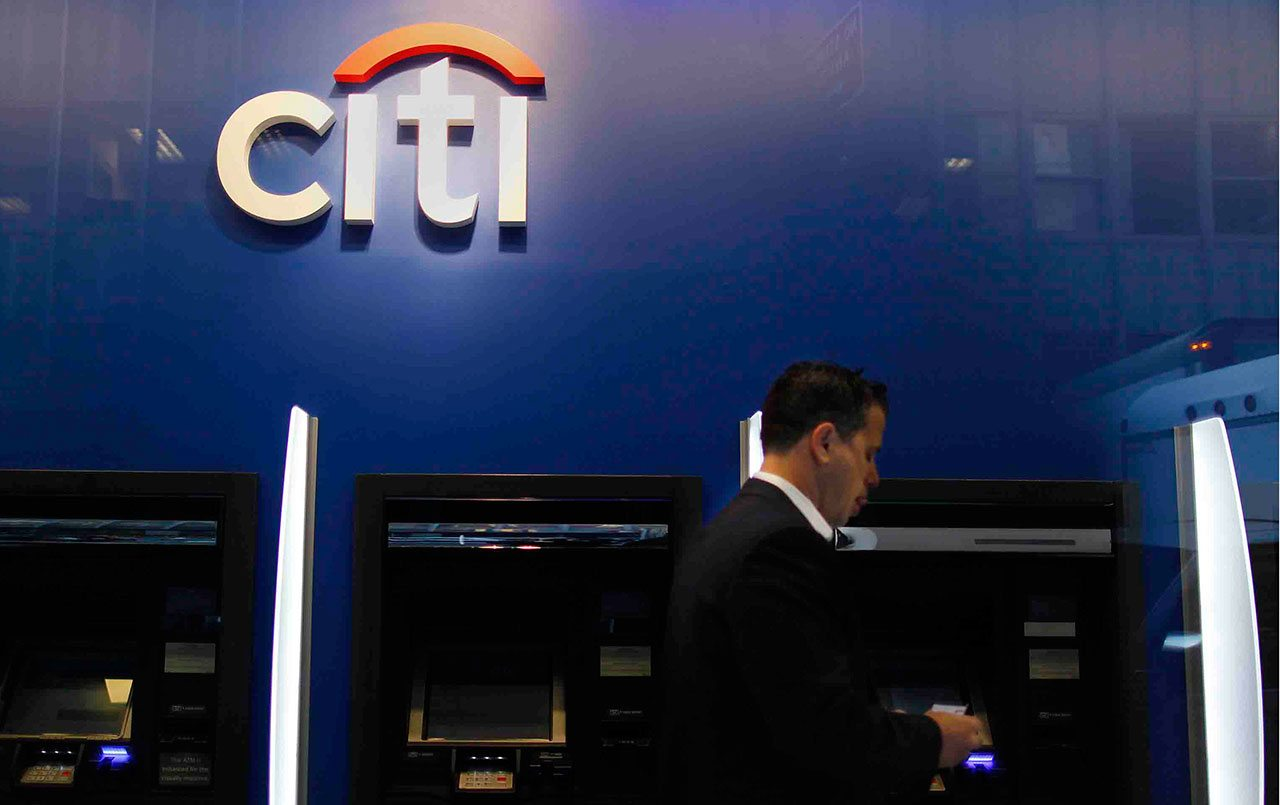 Ganancias de Citigroup se reducen 11% en el tercer trimestre