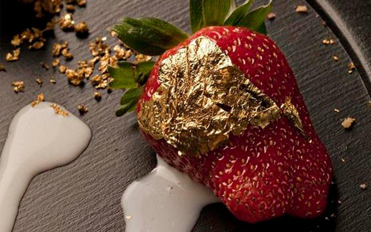 Oro: un exclusivo ingrediente en la gastronomía