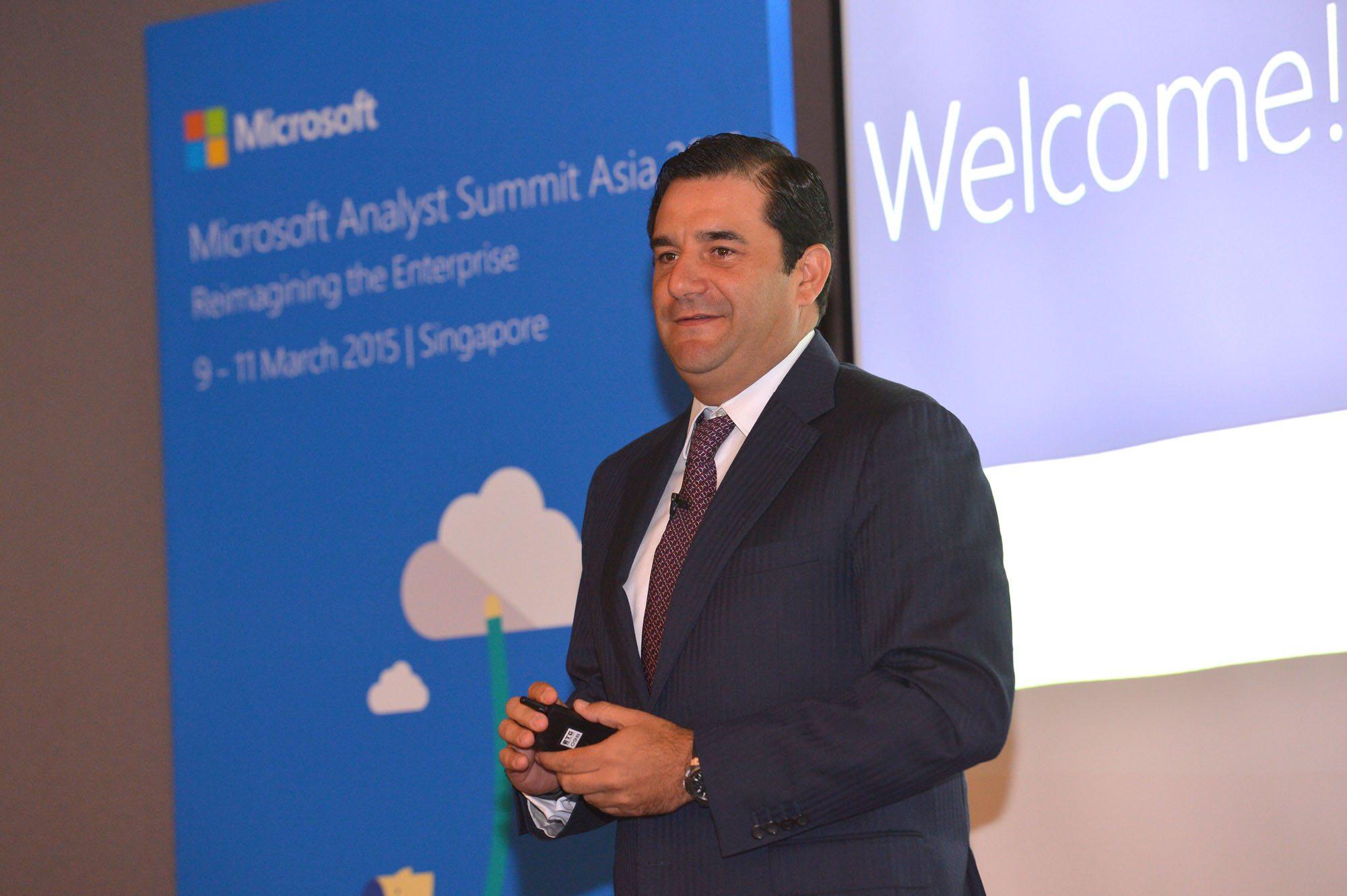César Cernuda, nuevo vicepresidente corporativo de Microsoft para AL