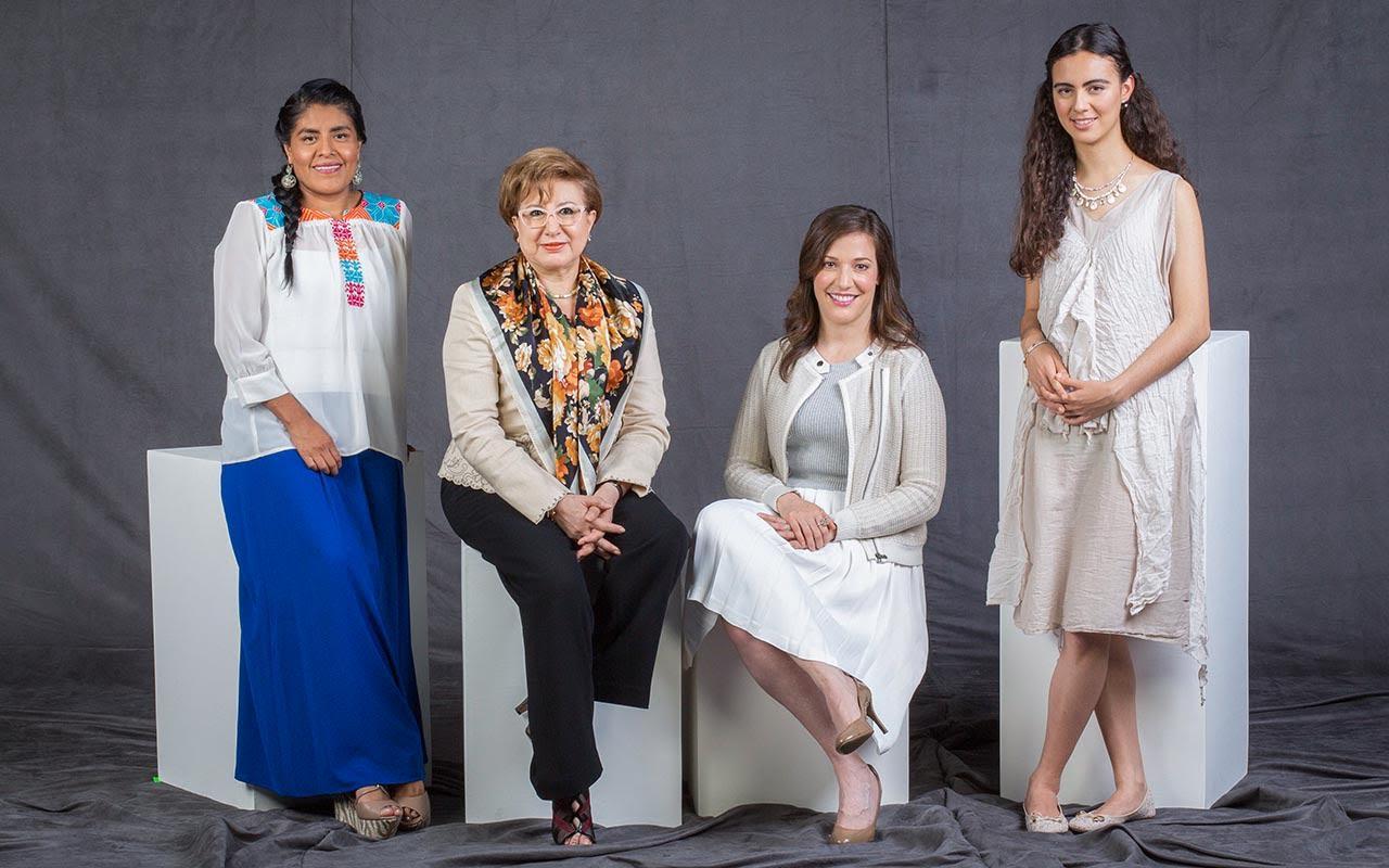 Eufrosina Cruz, Margarita Luna Ramos, Gabriela Enrigue, Olga Medrano, mujeres poderosas 2016 para Forbes México