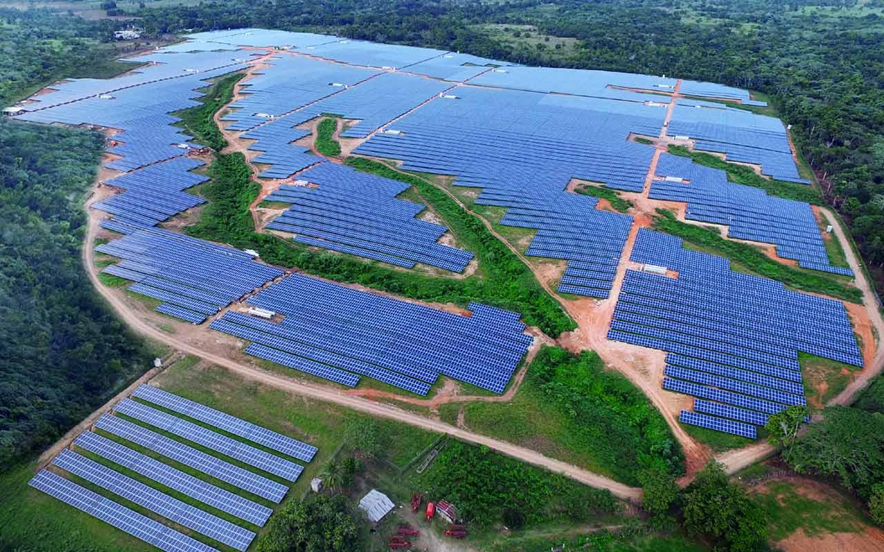 Las islas que recogen energía
