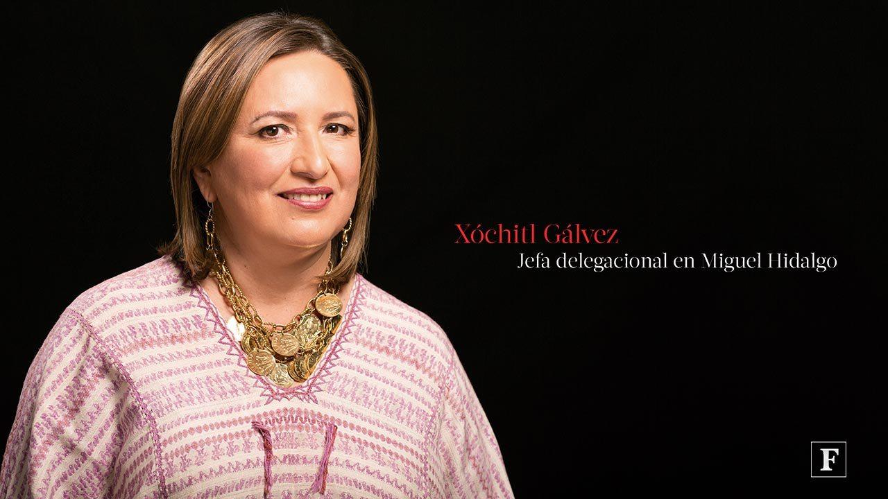 Mujeres poderosas Forbes 2016. Xóchitl Gálvez