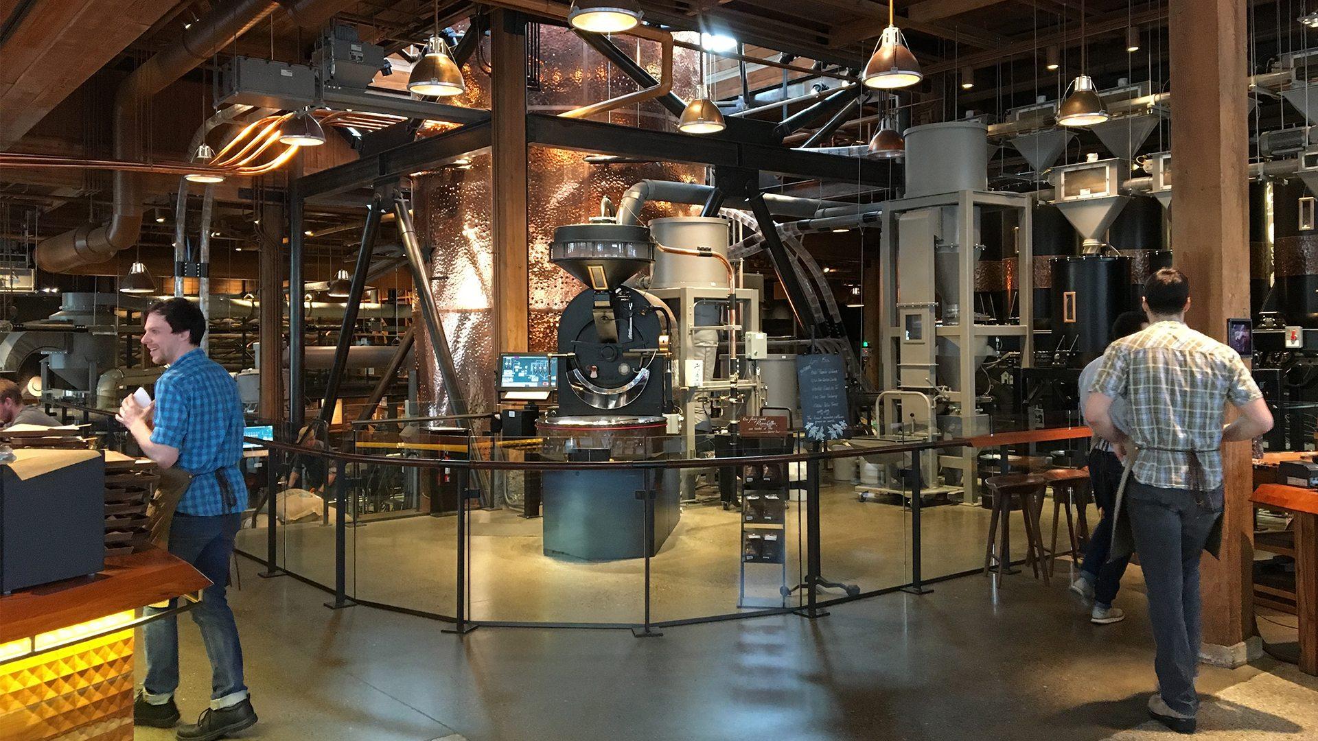 Una visita a la cafetería más exclusiva de Starbucks