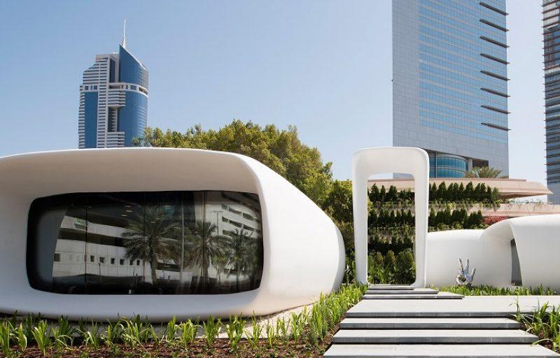 Siemens genera el primer edificio impreso en 3D en Dubai