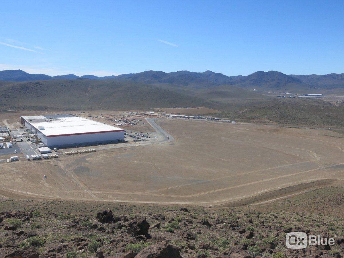 La gigafactory de Tesla en Nevada. (Foto: Cortesía de la compañía)