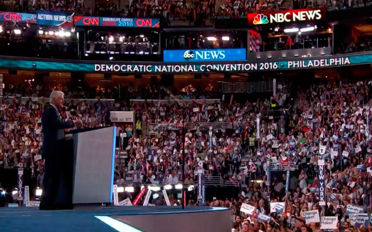 Hillary es la mejor agente de cambio que he conocido: Bill Clinton