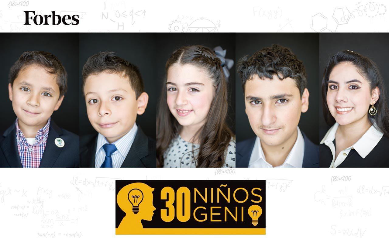 Quiénes son los 30 niños genios de México y qué hacen?