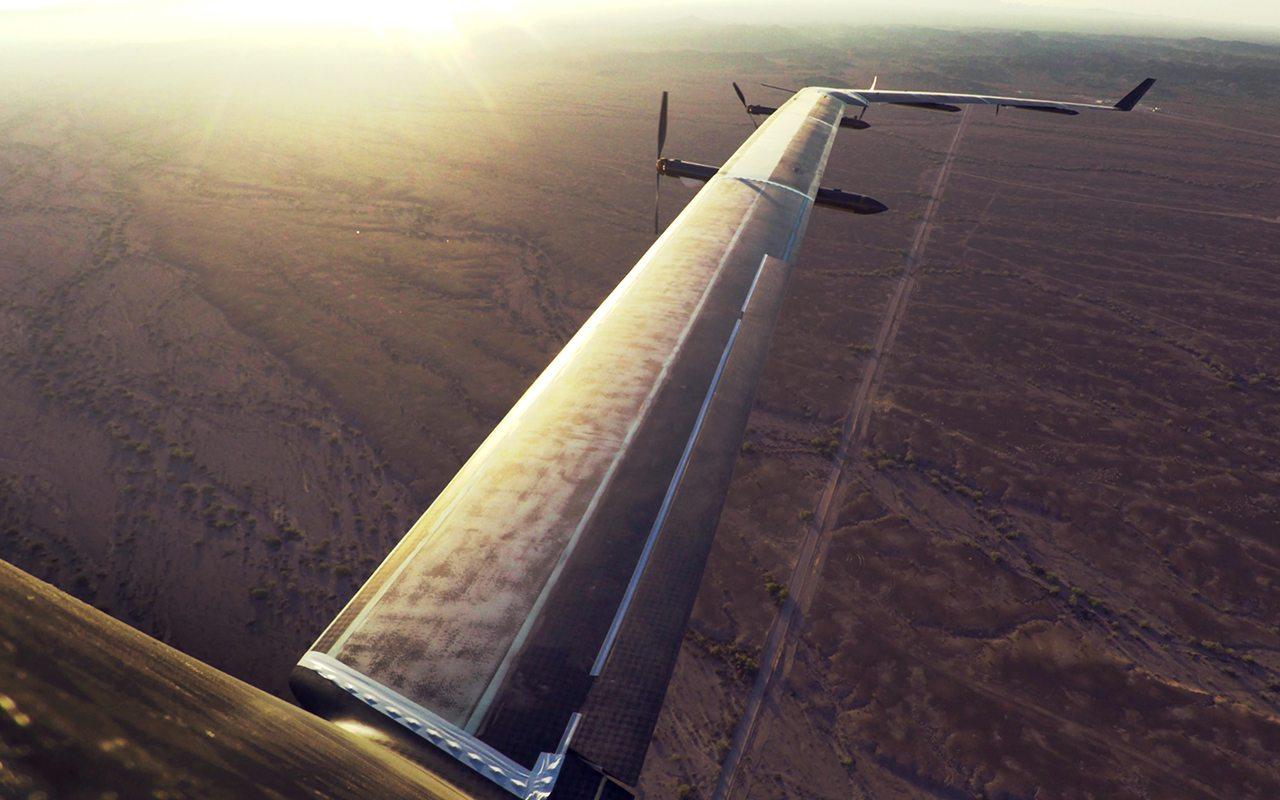 Facebook prueba con éxito el drone con el que llevará internet a zonas remotas
