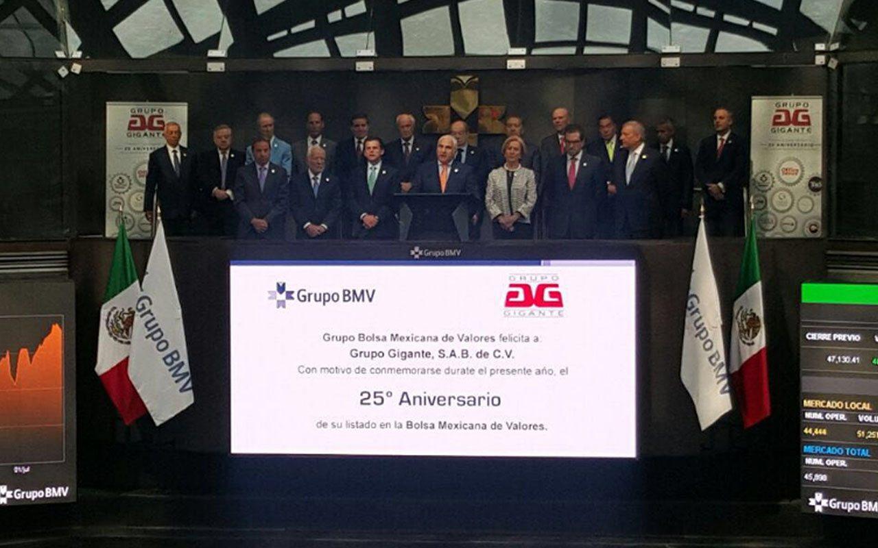 Grupo Gigante invertirá 1,500 mdp durante 2017